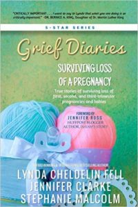 grief diaries loss of a pregnancy covver